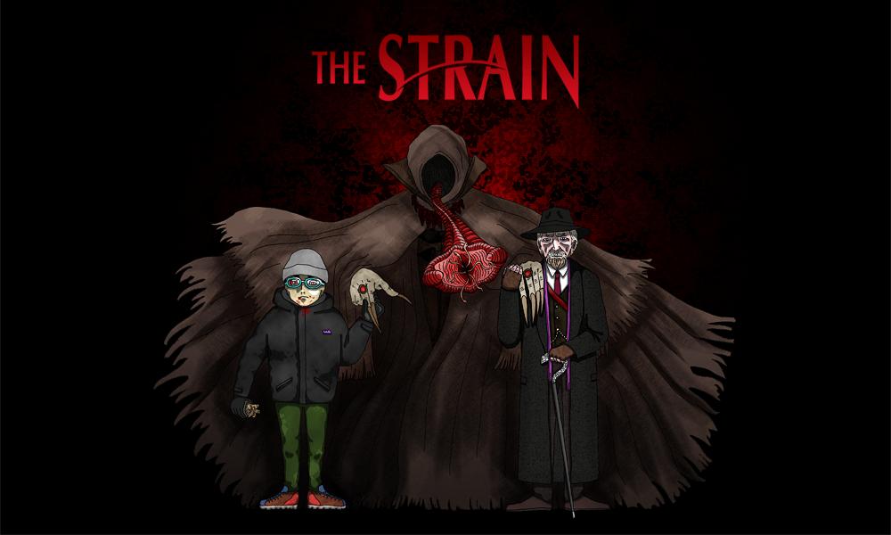 最恐の吸血鬼ドラマ『ストレイン 沈黙のエクリプス』(The Straijn)仕様のヘッダー画像を制作してみたよ!