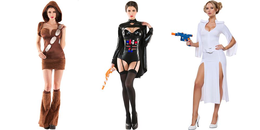 ハロウィン・ナイトは、セクシー・スター・ウォーズ。