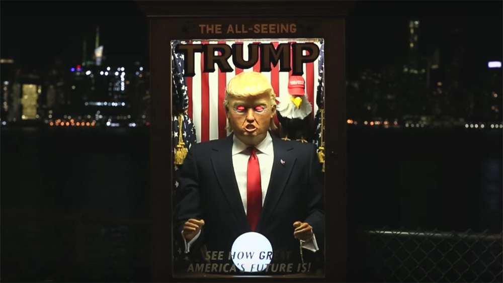 THE ALL-SEEING TRUMP
