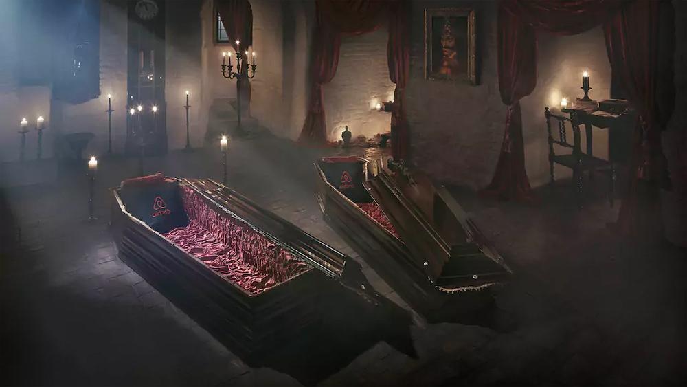 トランシルヴァニアのドラキュラ城に民泊できるらしいよ、ハロウィンの日に。