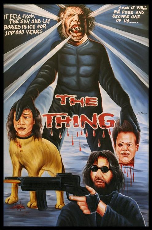 『遊星からの物体X』(The Thing)