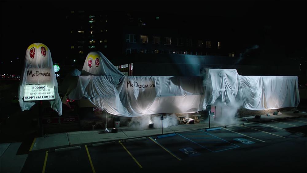 バーガーキングがマクドナルドになる、ハロウィンの恐い夜。