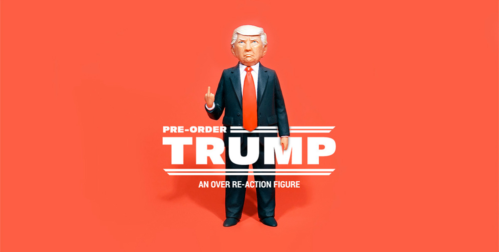 THE TRUMP ACTION FIGURE