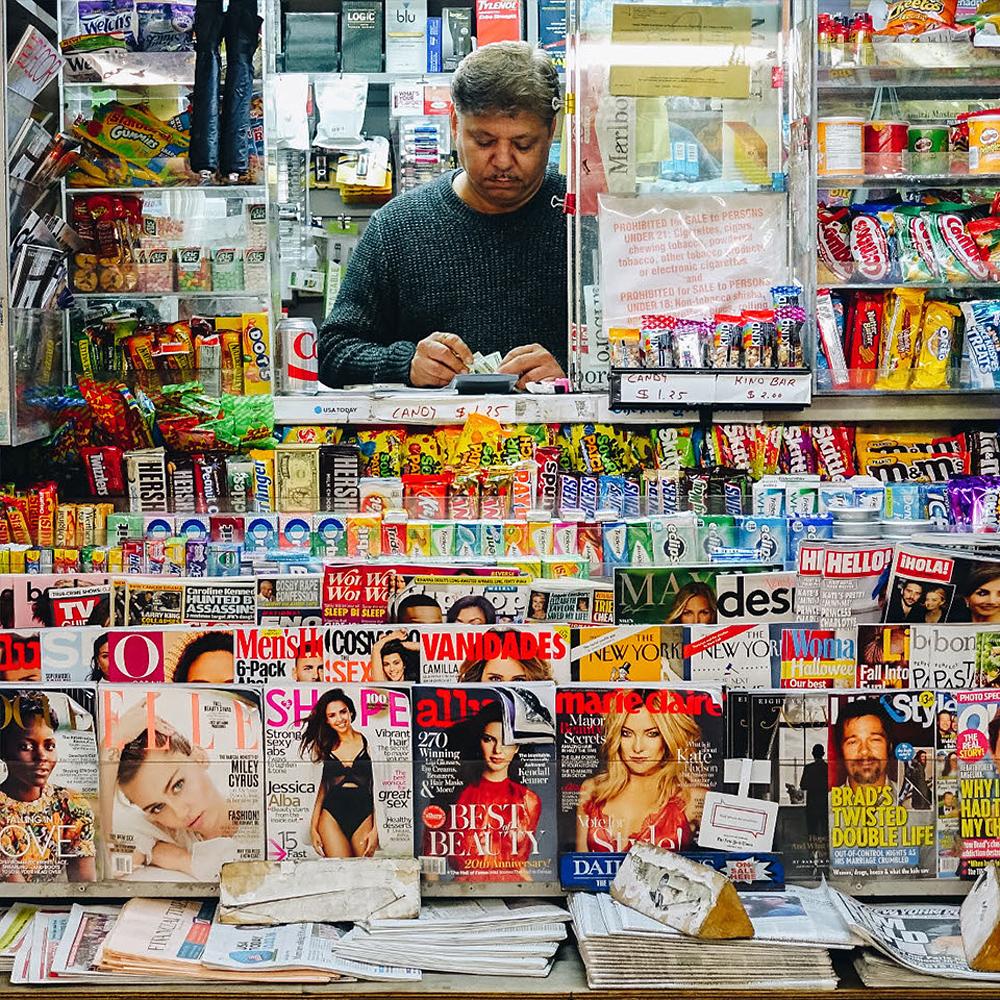 NYC Newsstands