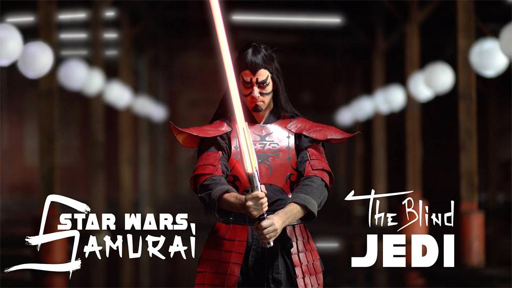 Star Wars Samurai : The Blind Jedi