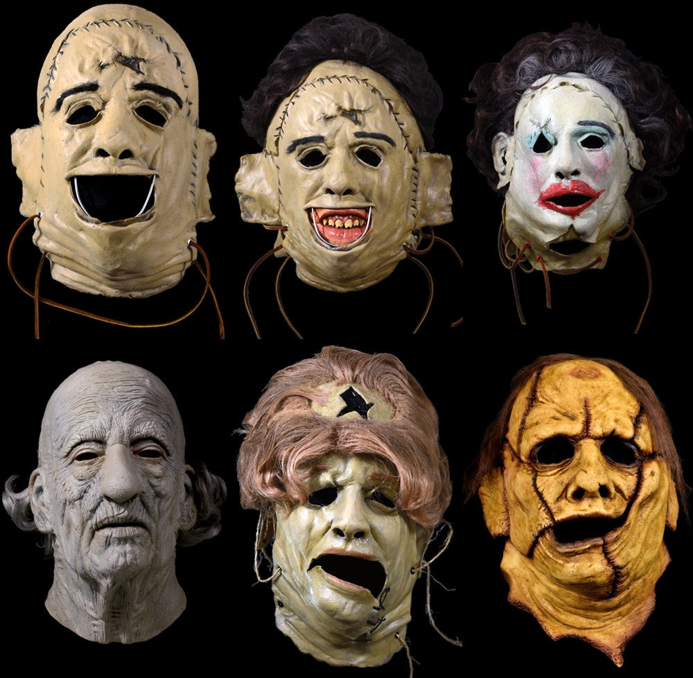 The Texas Chain Saw Massacre Masks