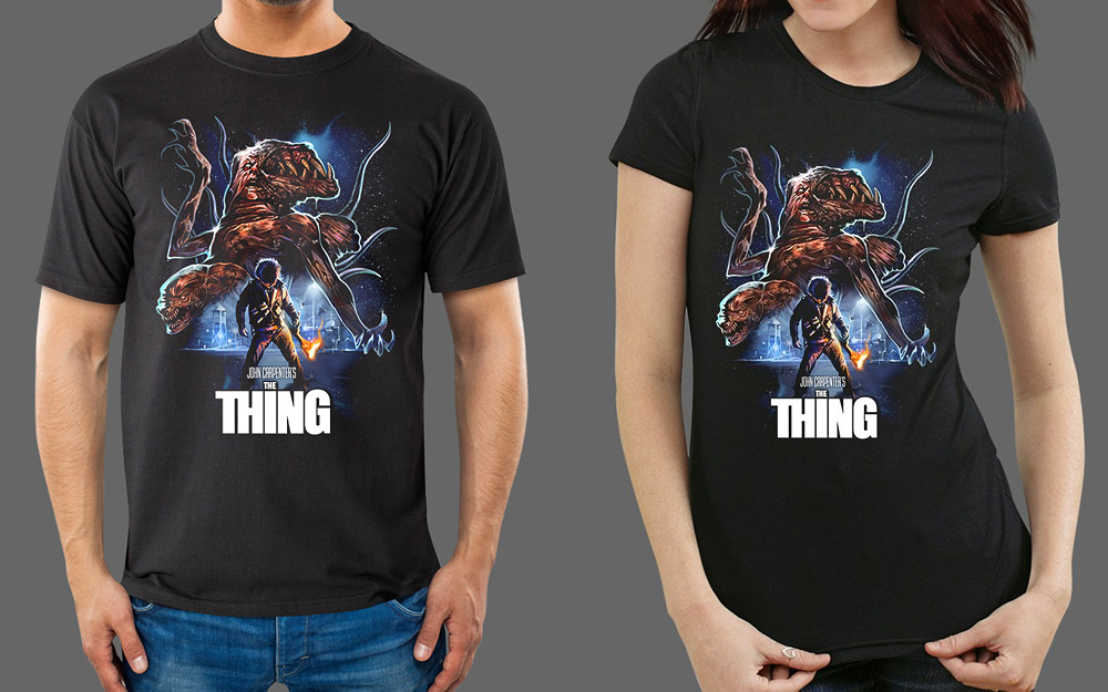 The Thing T-Shirt - V1 - FRIGHT-RAGS – Fright-Rags