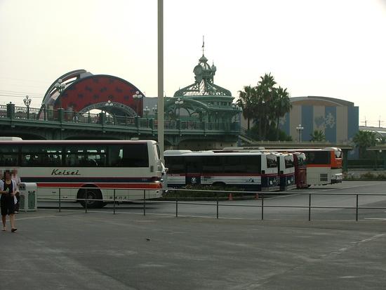 東京ディズニーランドバス乗り場