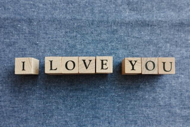 I LOVE YOUのブロック