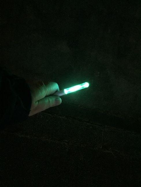 ダイソーのグラディエーションライト(キーホルダー)