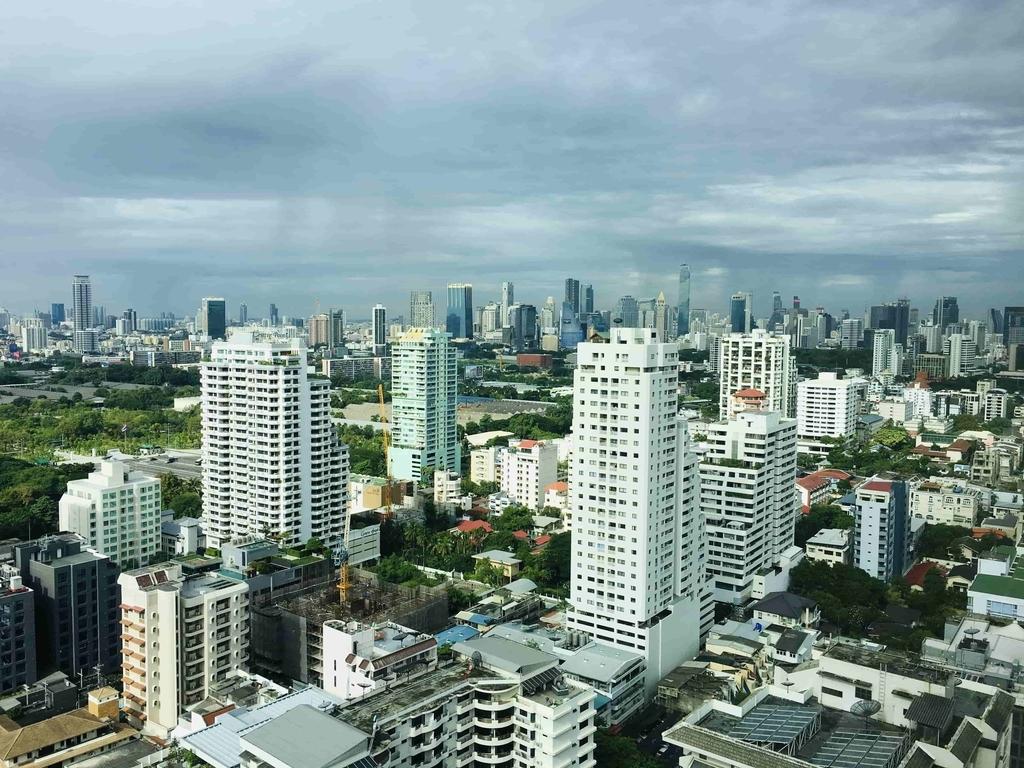 タイ・バンコクの街並み