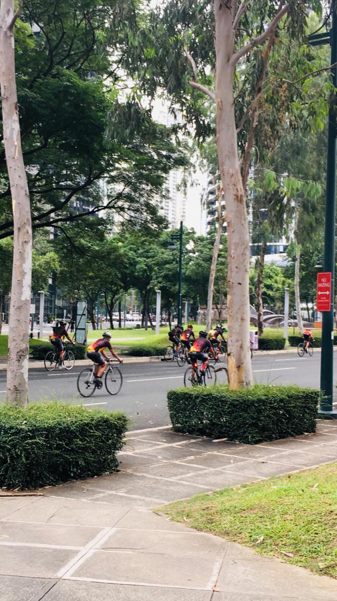 いま富裕層や上級駐在員の間で自転車が人気らしい