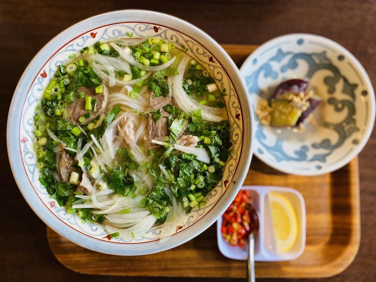 ベトナムランチ:牛肉のフォー
