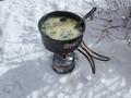寒いから雑炊 ちょっと多かった