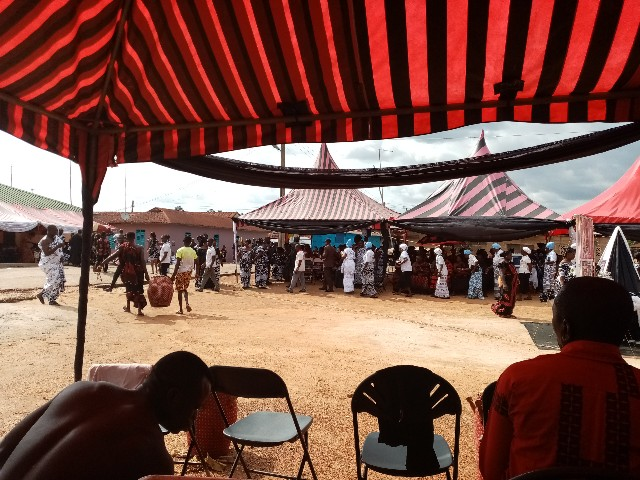葬式 ガーナ