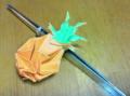 パイナップル、折り紙