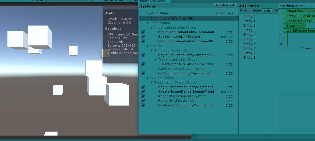 Unity】Unity2019 1で初級者でも本当に簡単にECSを実現する - ぐーるらいふ