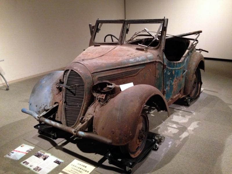 九五式小型乗用車 初期型 通称「...
