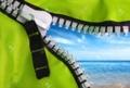 a beautiful sea look from zipper