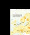 UNEP より Cs137汚染地図 (1986年5月10日 ) http://p.tl/D6-g
