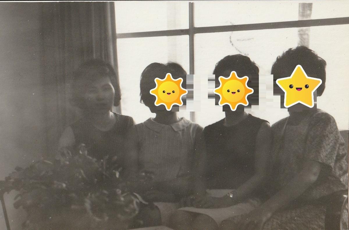 1964年(昭和39年)夏「渋谷区幡ヶ谷」