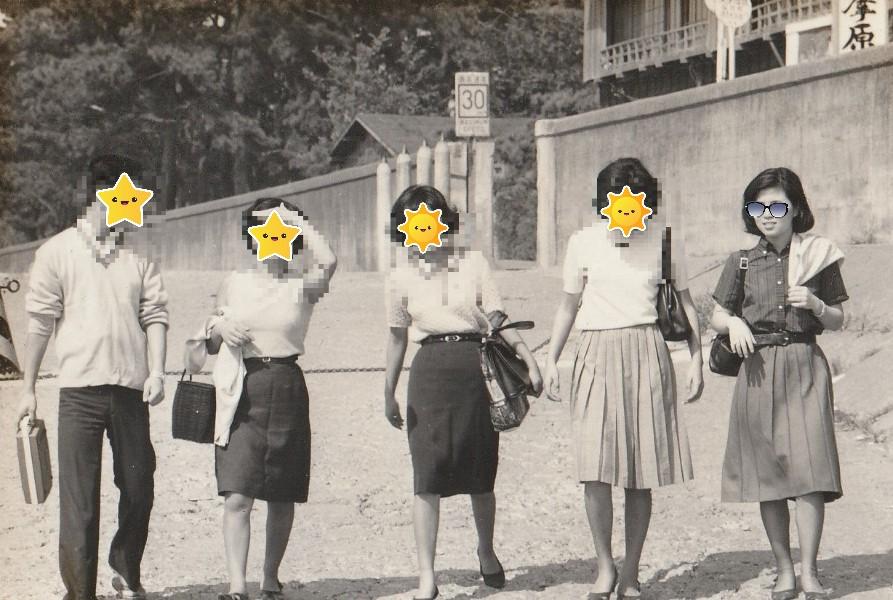 1964年(昭和39年)、静岡県富士市厚原周辺の風景