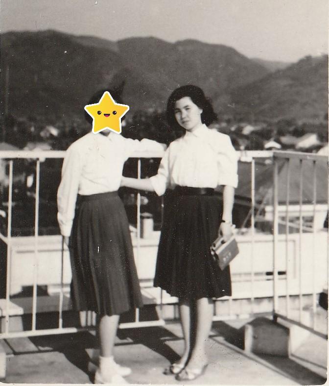 1960年、会津若松市民会館屋上