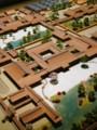 [谷川流作品]宇治源氏物語ミュージアムの六条院模型(左右反転)