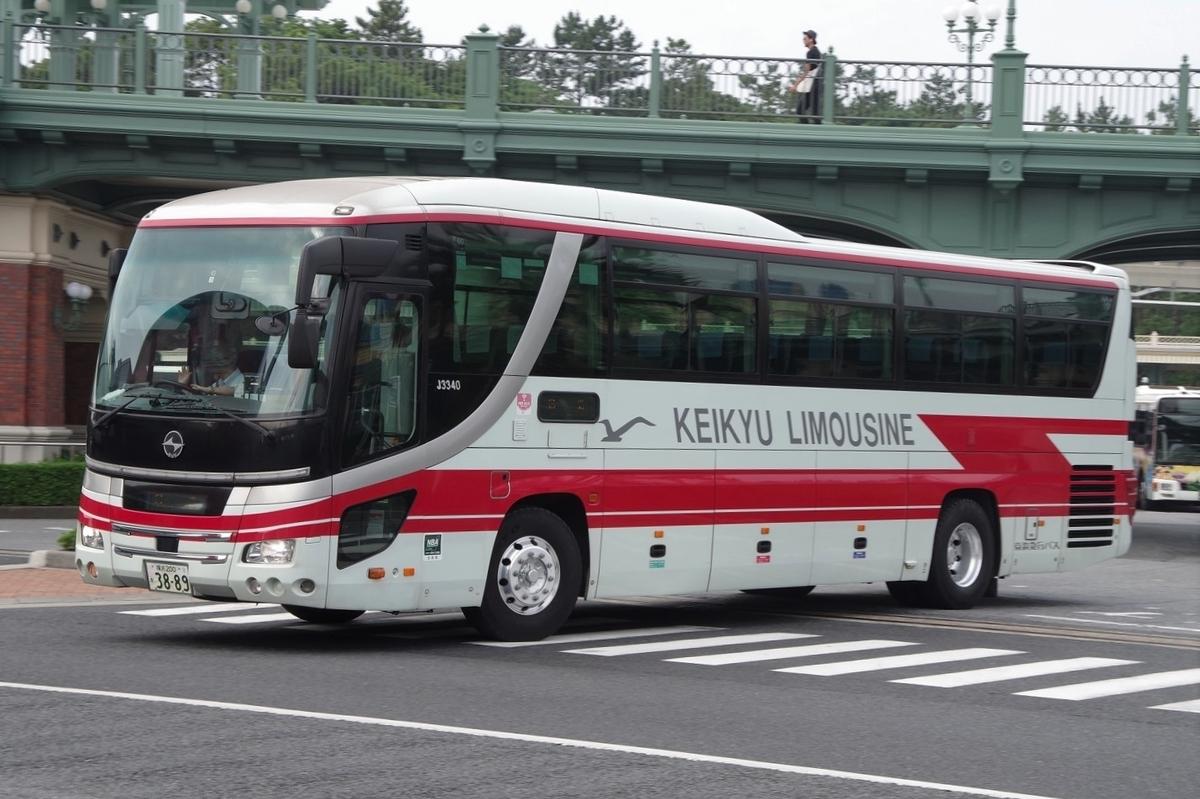 京浜急行バス J3340 - ぎおん車両館