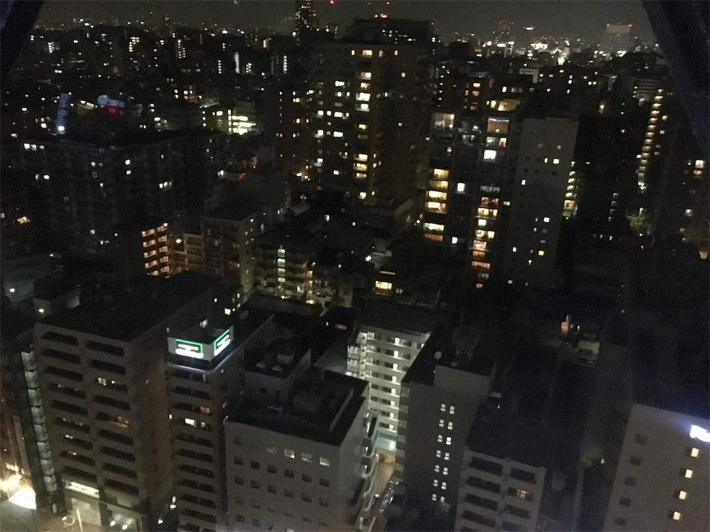 東京ドームシティ 夜景