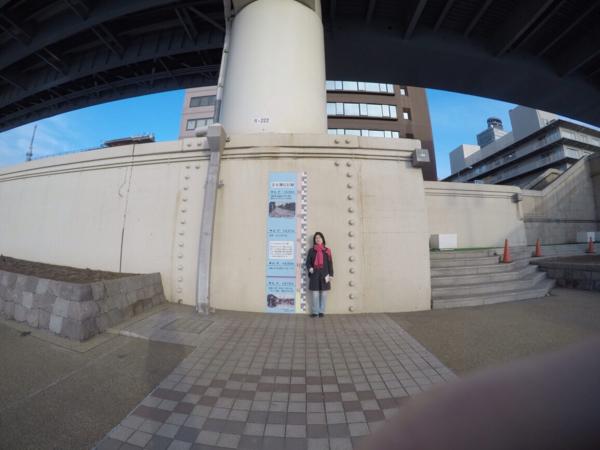 隅田川テラスの堤防