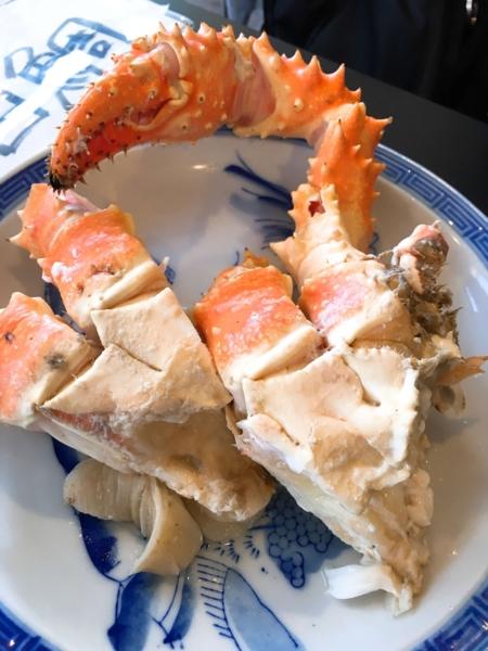 金谷食堂イバラガニ