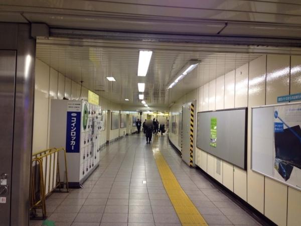 メトロプロムナード(新宿駅地下)