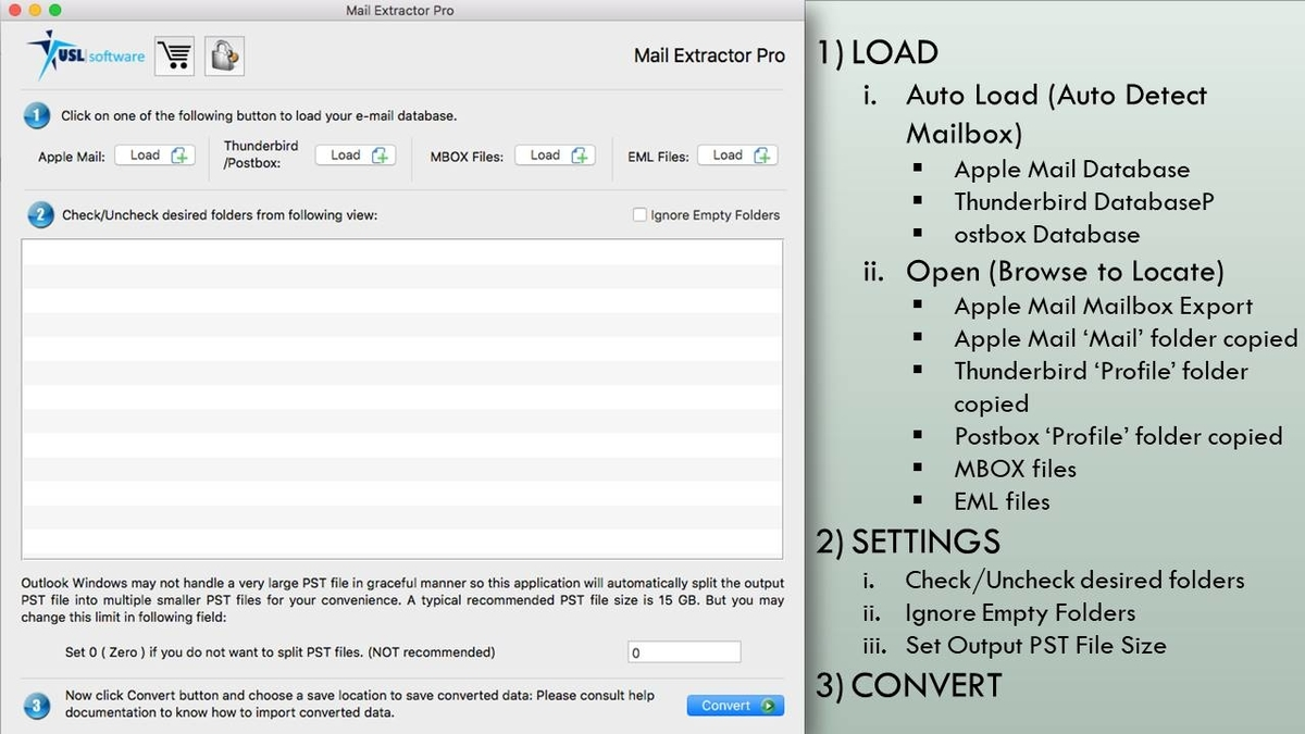 How to convert eml to pst