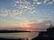 羊雲と夕焼け