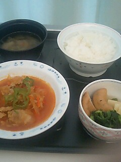 大津市民病院 昼食