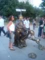 Living Statue@Jubilee Gardens○