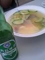 季節の海鮮スープ@四条大橋 東華菜館 ○