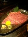 すばらしいお肉の刺身@京都駅前 ご馳家