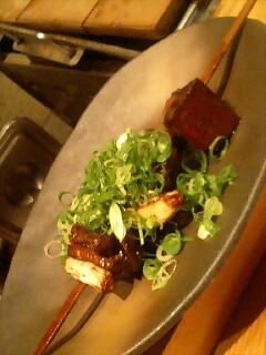 豚の大串味噌煮込み@京都駅前 六角や