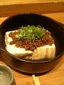 肉味噌豆腐@京都駅前 六角や