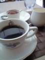 コーヒーとアイス@ホテルトラスティ心斎橋 Bruno del Vinoカフェ