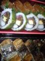 はも押寿司 高菜太巻 炙りさんま@JR京都伊勢丹 古市庵