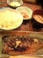 鯖の塩焼き@東心斎橋 遊食 今井
