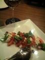 トマトとモッツァレラチーズのサラダ@京都駅前 きくおか