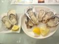 北海道や三重の牡蛎@YEBISU OYSTER BAR