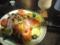 生ハムと夏野菜の冷製パスタ@京都駅前 cha cha ○