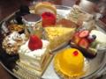 ケーキセットの選べるケーキ@堂島ホテル THE DINER ○