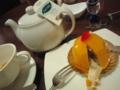 マンゴーとバナナのケーキ@堂島ホテル THE DINER ○