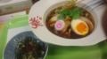 秋刀魚醤油ラーメン@拳10ラーメン